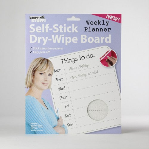 Gripping Stuff Dry-wipe things to do board